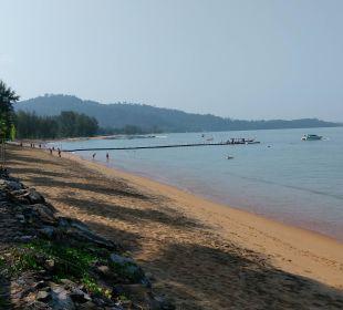 Strand linke Seite Hotel Mukdara Beach Villa & Spa Resort