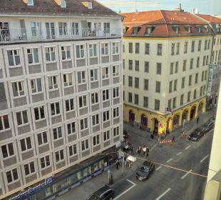 Schwanthalerstr. rechts Hotel Courtyard by Marriott München City Center