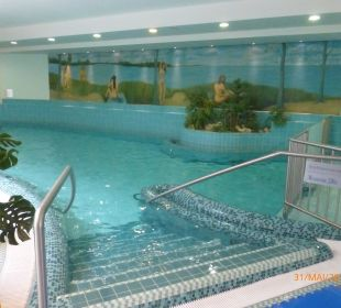 Innenpool Grand Hotel Binz by Private Palace Hotels & Resorts