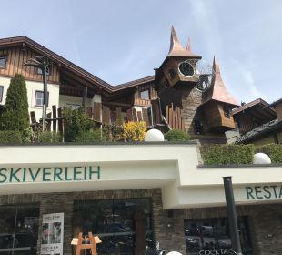 Außenansicht Leading Family Hotel & Resort Alpenrose
