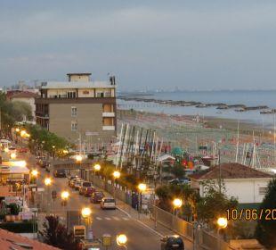 Blick nach Viserbella Hotel Palos