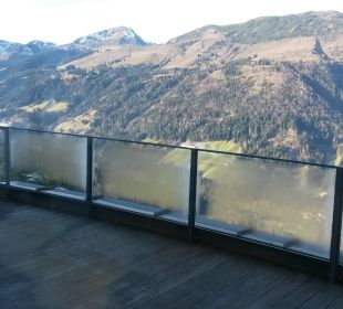 Ausblick vom Balkon Maierl-Alm & Chalets