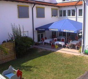 Terrasse und Garten Best Hotel Mindeltal