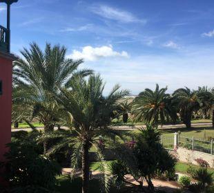 Ausblick aus unseren Zimmer 4168 Lopesan Villa del Conde Resort & Spa