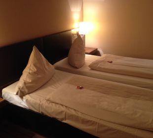 Sehr bequeme Betten NOVINA HOTEL Tillypark