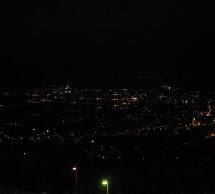 Zimmerausblick bei Nacht Hotel Agritur Acetaia Gourmet & Relax