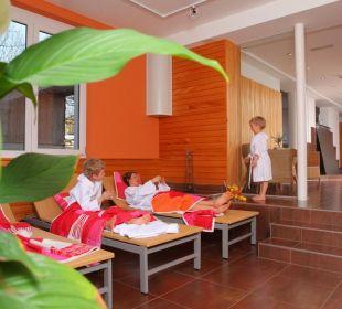 Unser schöner Wellnessbereich die Sonnigen Hotel und Restaurant