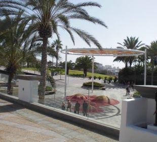 Die neue Anlage vom Poolausgang Gran Tacande Wellness & Relax Costa Adeje