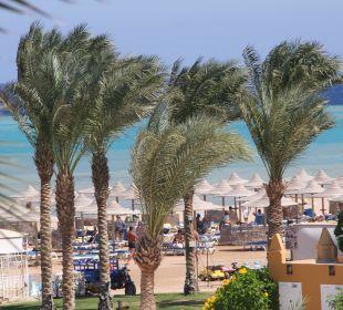 Meerblick vom Balkon Stella Di Mare Beach Resort & Spa Makadi Bay