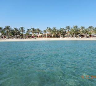 Vom Meer aus Brayka Bay Resort