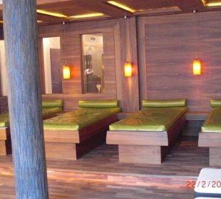 Ruheraum mit Wasserbetten Hotel Roslehen
