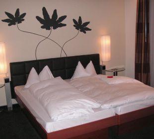 Das Zimmer mit Bett Hotel Basel