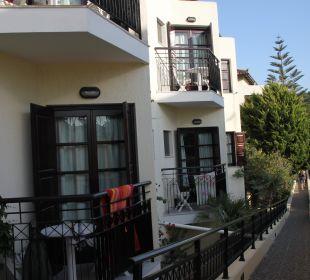 Balkone unten Hotel Kalidon