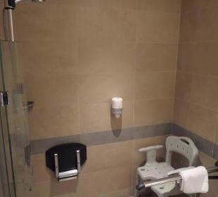 Dusche Nr. 102 AktivHotel Hochfilzer