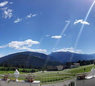 Panoramablick von der Terrasse Hotel Lärchenhof