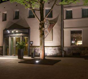 Hoteleingang Hotel Stadtpalais