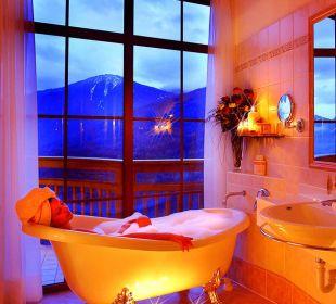 Luxusbad im Panoramazimmer Alpin Panorama Hotel Hubertus
