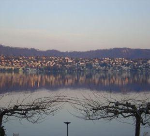 Blick über den See Romantik Seehotel Sonne