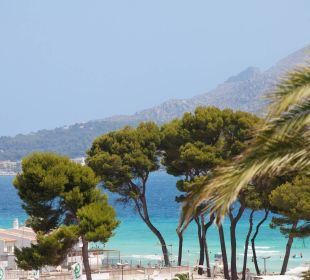 Views from top floors  Hotel JS Alcudi Mar
