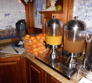 Ein Teil des Frühstücksbuffets Strandhotel Heringsdorf