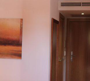 Zimmerausgang Hotel JS Alcudi Mar