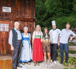 Die Gastgeber: Familie Egger Wohlfühlhotel Falzeben