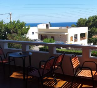 Blick von der Hotelterrasse Hotel Dimitra