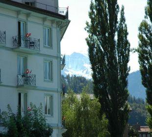 Bellevue mit Jungfrau Hotel Bellevue