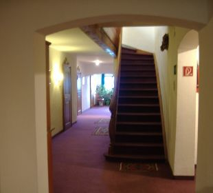 Hotelflur Alpenhotel Schliersbergalm