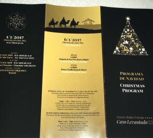 Programm Weihnachten und Silvester Luxury Bahia Principe Cayo Levantado Don Pablo Collection