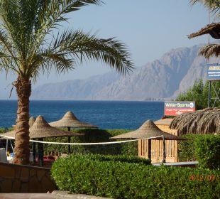 Blick auf die Berge Jaz Dahabeya