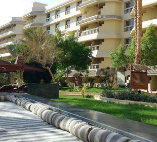 Weg aus dem Hotel Richtung Promenade
