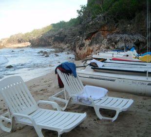 Liegen und Boote Hotel Club Amigo Bucanero (existiert nicht mehr)
