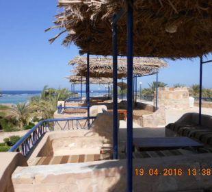 Shishabar über Bungalow 411 - 418 Hotel Utopia Beach Club