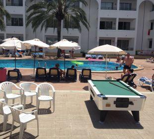 Pool und Billard  Hotel Ola Club Cecilia