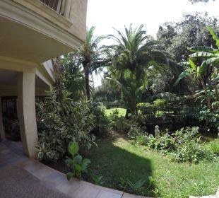 Aussenbereich Hotel Lago Garden