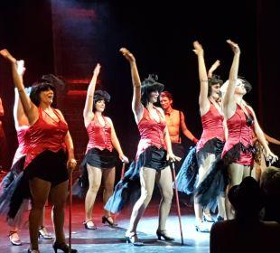 Burlesque Show Theater  Club Aldiana Zypern