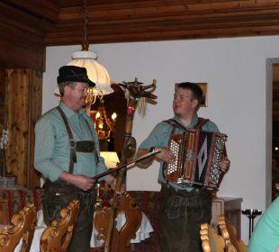 Musik im Restaurant Hotel Bergkristall