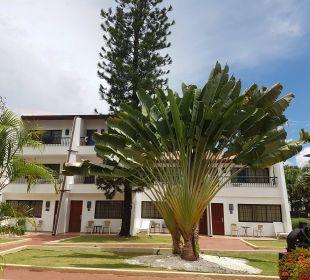 Auf einen der Wohnblocks Hotel BlueBay Villas Doradas