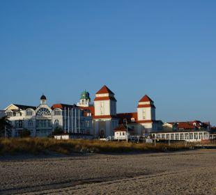 Mit Blick auf das Kurhaus Grand Hotel Binz by Private Palace Hotels & Resorts