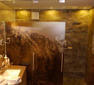 Geschmackvolles offenes Bad Alpin & Relax Hotel Das Gerstl