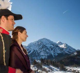 Vom Balkon in die Allgäuer Berge Hotel Prinz - Luitpold - Bad