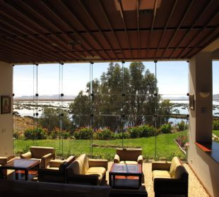 Restaurantausblick Hotel Libertador Lago Titicaca