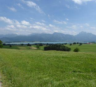 Ausblick Ferienwohnungen Berghof Kinker