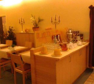 Frühstücksbuffet Comfort Garni Hotel