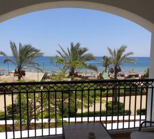 Die Aussicht vom Balkon Zimmer 1228 Jaz Dahabeya