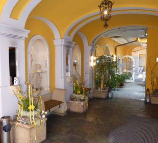 Eingang in das Palais Hotel zum Dom