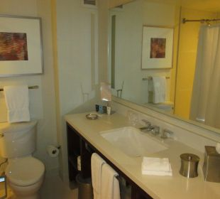 Badezimmer mit WC Crowne Plaza Hotel Times Square Manhattan