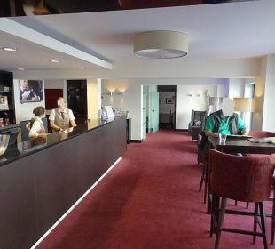 Lobbybereich mit Sitzecke Hotel Haverkamp