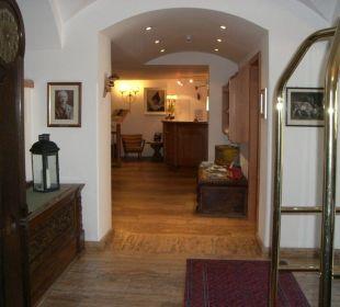 Der Rezeptionsbereich Silence & Schlosshotel Mirabell